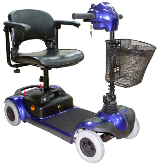 Folding Four-Wheel Mobility Scooter Blue HS-295