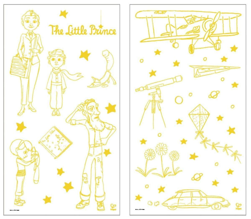 The Little Prince Glow In The Dark Stickers