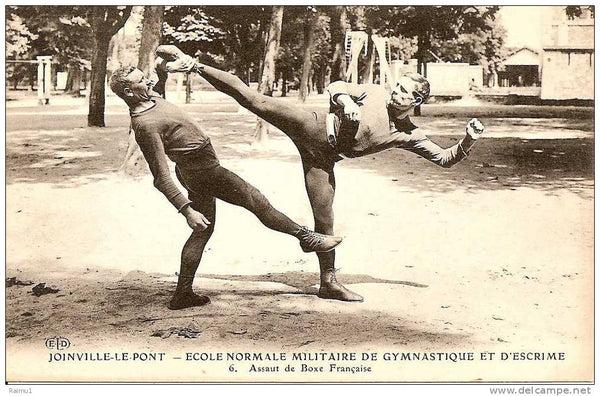 LES LEGENDES DE LA SAVATE BOXE FRANCAISE