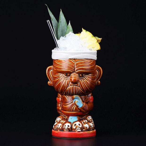 Koi Tiki™ - 17.5oz Bartender World Free Worldwide Shipping