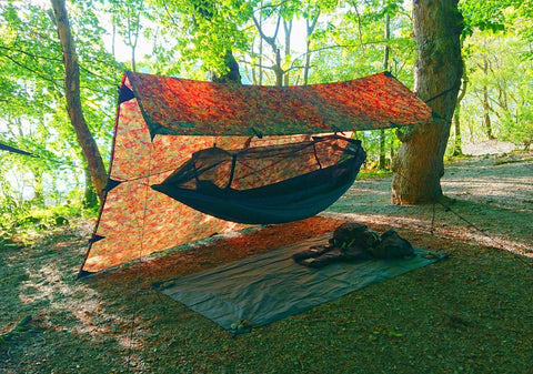 Full hammock set up