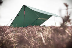 DD Tarp shelter using DD walking poles