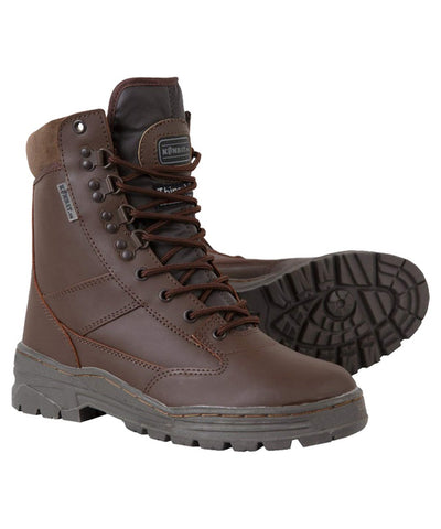 Full Leather Waterproof Boots - Brown - PREPARE FOR ADVENTURE