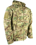 Patriot Tactical Soft Shell Jacket - MTP - Olive - Black