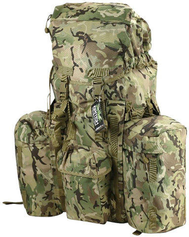 Full Size PLCE System 120ltr Rucksack - MTP - PREPARE FOR ADVENTURE