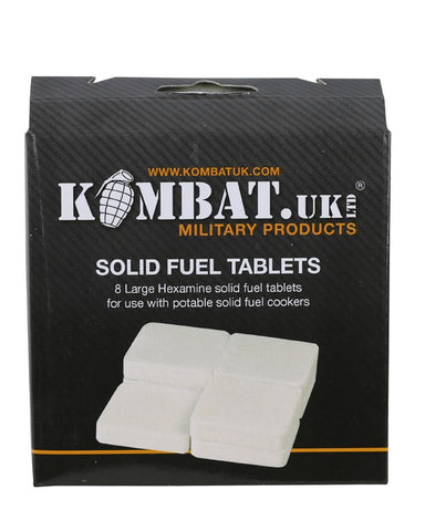 Solid Fuel Tablets - Hexamine Blocks - Pack of 8 - PREPARE FOR ADVENTURE
