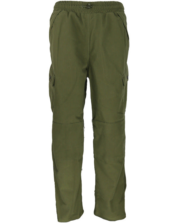 Classic Hunting Trousers - Moss Green - Hedgerow Camo - PREPARE FOR ADVENTURE