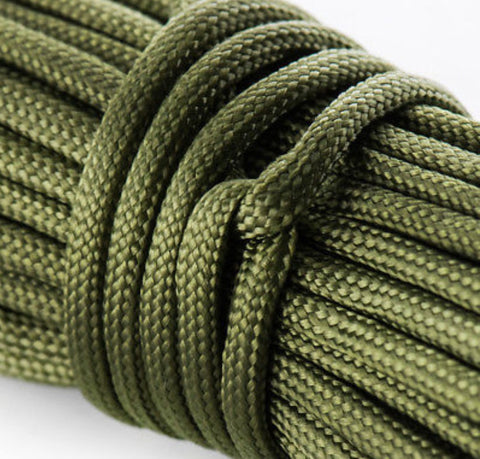 US Paracord, 7 Strand Paracord, 550 Paracord, 550lbs breaking strain cordage