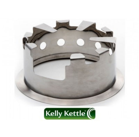 Kelly Kettle Hobo Stove Large Stainless Steel - Fits Base Camp and Scout Kettle's - PREPARE FOR ADVENTURE