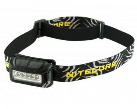 Nitecore NU10 Headlamp - 160 Lumens - PREPARE FOR ADVENTURE