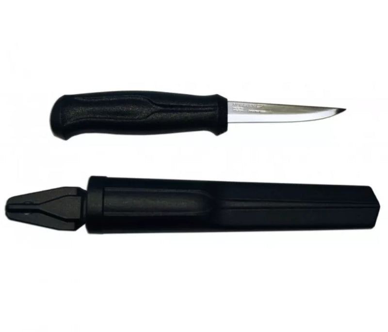 Mora Wood Carving Knife Basic - Stainless Steel - PREPARE FOR ADVENTURE