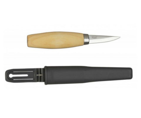 Mora Wood Carving Knife 120 - Carbon Steel