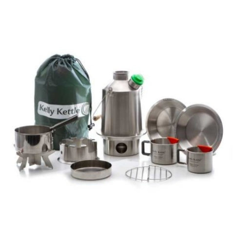 Kelly Kettle Ultimate Scout Kit Stainless Steel - NEW MODEL