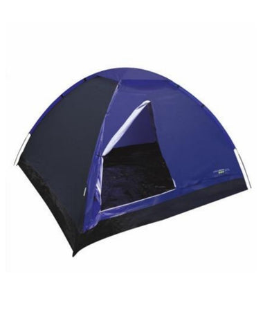 Dome Tent - 4 Man - Blue - Yellowstone