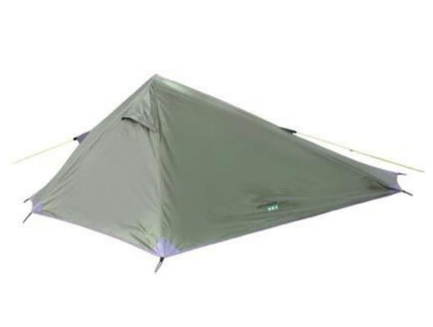 Matterhorn Lightweight Solo Tent - 1 Man - Green - Yellowstone