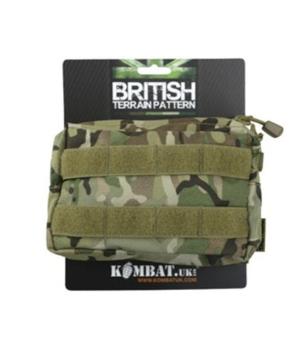 Small Molle Pouch - Storage - Hiking Camping Bushcraft - BTP