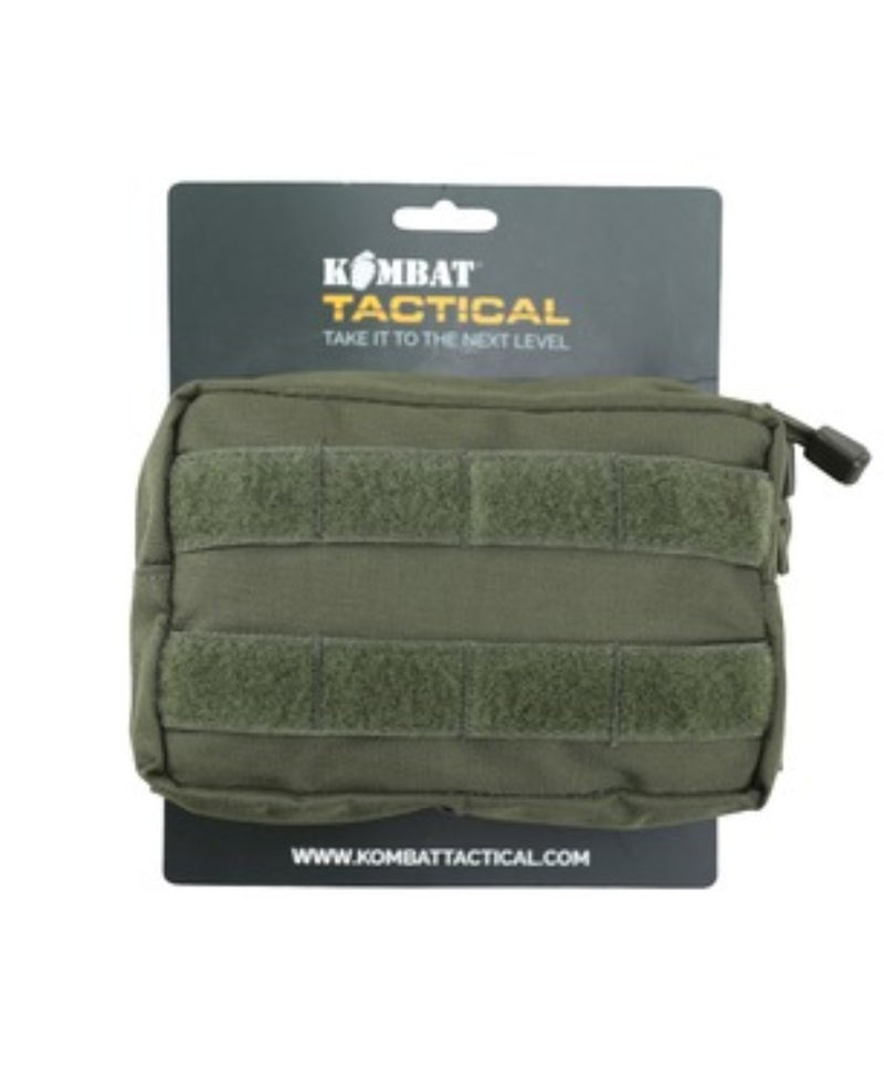 Small Molle Pouch - Storage - Hiking Camping Bushcraft - Olive Green - PREPARE FOR ADVENTURE