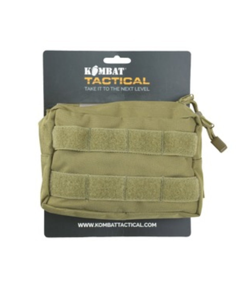 Small Molle Pouch - Storage - Hiking Camping Bushcraft - Coyote Brown - PREPARE FOR ADVENTURE