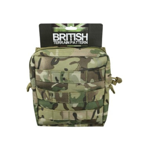 Medium Molle Pouch - Storage - Hiking Camping Bushcraft - BTP - PREPARE FOR ADVENTURE
