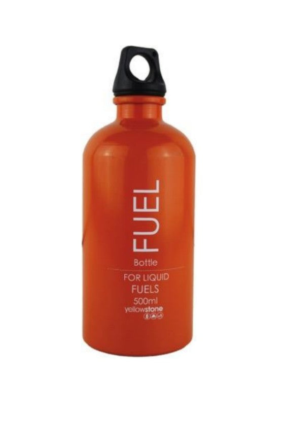 Liquid Fuel Bottle - Meths / Alcohol Storage - 500ml / 0.5ltr - PREPARE FOR ADVENTURE
