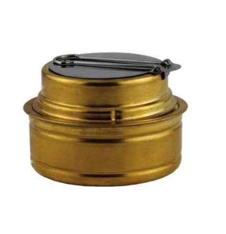 Spirit Burner - Meths / Alcohol Stove - Brass - Yellowstone