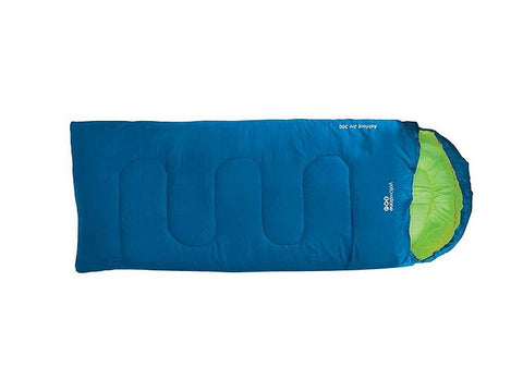 Junior Sleeping Bag - Ashford 300 - Blue - Yellowstone
