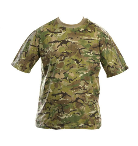 Military Camouflaged Outdoor T-Shirt - Available In 4 Patterns - PREPARE FOR ADVENTURE