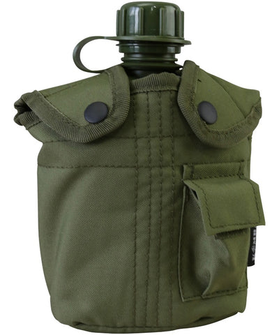 Military Water Bottle - Belt Pouch - Available In 4 Colours - PREPARE FOR ADVENTURE