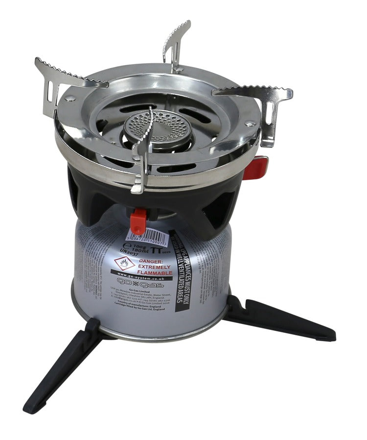 Ultra Fast Boil Lightweight Gas Camping Stove - PREPARE FOR ADVENTURE