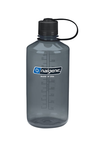 Nalgene Tritan 1ltr Water Bottle - Narrow Mouth - PREPARE FOR ADVENTURE