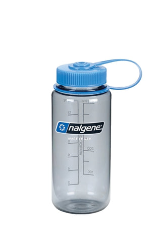 Nalgene Tritan 500ml Water Bottle - Wide Mouth - PREPARE FOR ADVENTURE