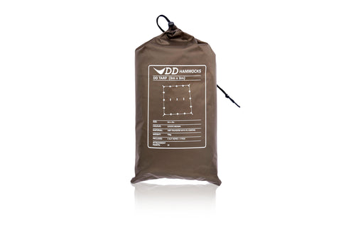 DD Tarp 3x3m - Coyote Brown