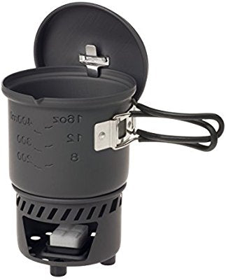 Esbit 585ml Anodised Aluminium Cookset (Solid Fuel) - PREPARE FOR ADVENTURE