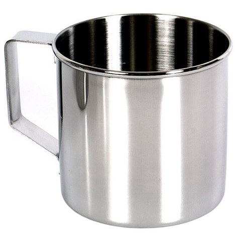 Zebra head stainless steel mug, ideal for camping and bushcraft