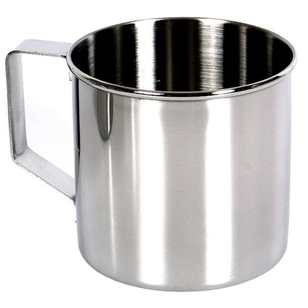 Zebra Mug - 400ml - 8cm - Stainless Steel - PREPARE FOR ADVENTURE