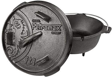 Petromax ft3 Dutch Oven - 1.6ltr - Cast Iron - PREPARE FOR ADVENTURE