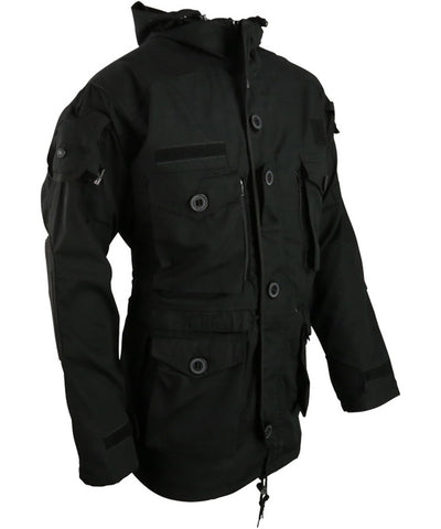 SAS Style Assault Jacket - Black - PREPARE FOR ADVENTURE