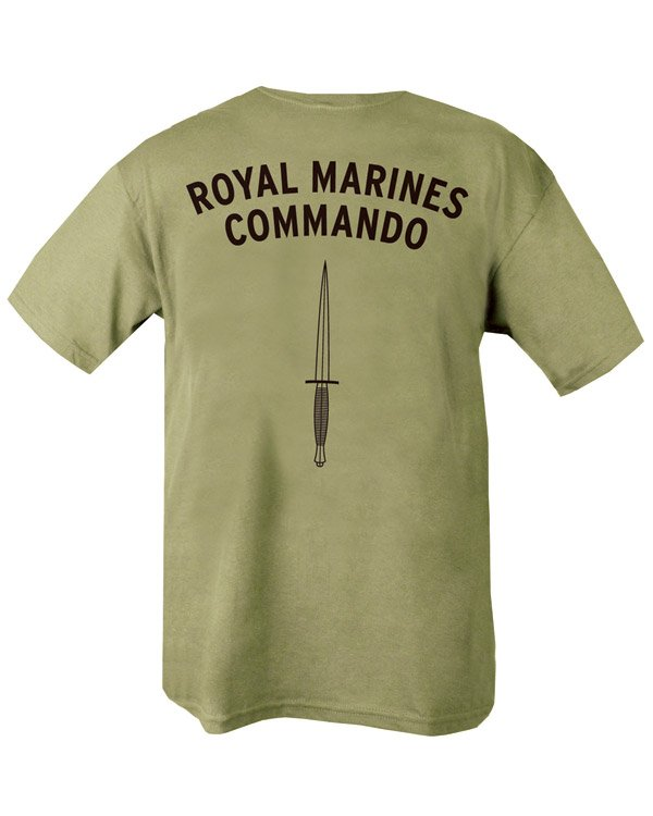 Royal Marines Commando T-shirt - PREPARE FOR ADVENTURE