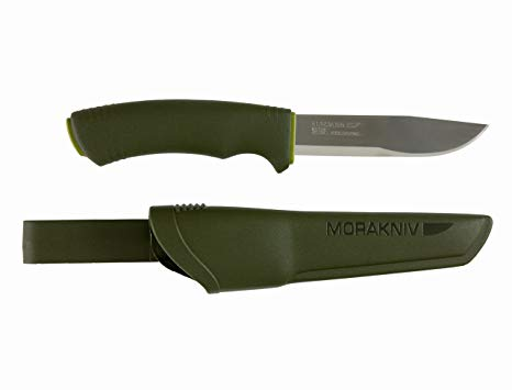 Mora Bushcraft Forest Knife - Stainless Steel - PREPARE FOR ADVENTURE
