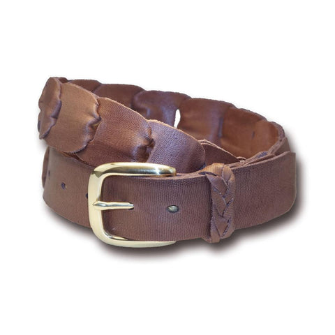 Barmah Kangaroo Leather Belt - Broken Hill - Brown - PREPARE FOR ADVENTURE