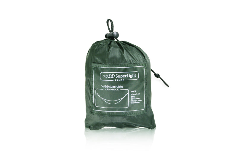 DD Superlight Hammock - Olive Green - PREPARE FOR ADVENTURE