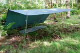 DD Hammocks Tarp 3x3m Olive Green - PREPARE FOR ADVENTURE