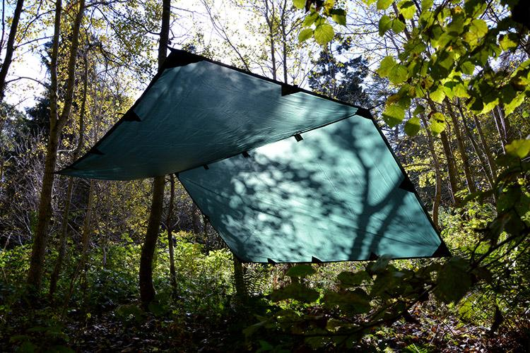 Full Hammock Setup - Hammock - 3x3m Tarp - Quilt - Under Blanket - XL Magic Carpet - Ridgeline - PREPARE FOR ADVENTURE