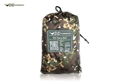 DD 3x3 Pro Tarp - MultiCam - PREPARE FOR ADVENTURE