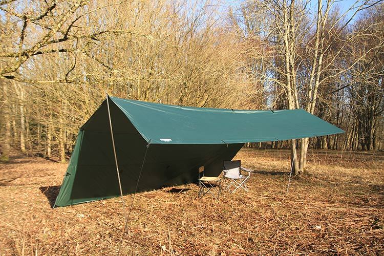 DD Hammocks 5x5m Tarp Olive Green - PREPARE FOR ADVENTURE