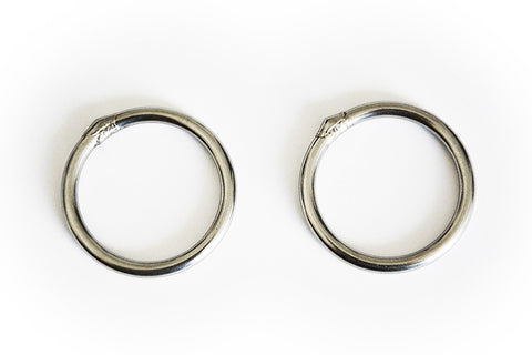 DD Steel Hammock Rings x2
