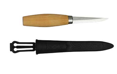 Mora Wood Carving Knife 106 - Carbon Steel