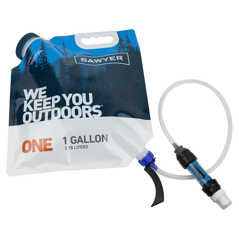 Sawyer One Gallon Gravity Water Filtration System - PREPARE FOR ADVENTURE