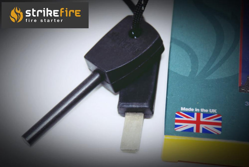 Strikefire Fire Starter - Medium Fire Steel - Ferro Rod - PREPARE FOR ADVENTURE