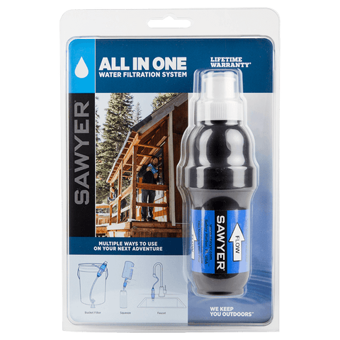 Sawyer All In One Water Filtration System - PREPARE FOR ADVENTURE